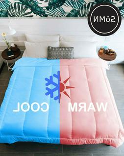 Kömforte Dual Zone Couples Comforter– All Season Duvet In