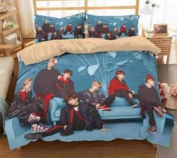 kpop Quilts Bangtan Boys bedspread set Summer Double <font><