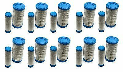 10 air pre filters cleaners set ferris