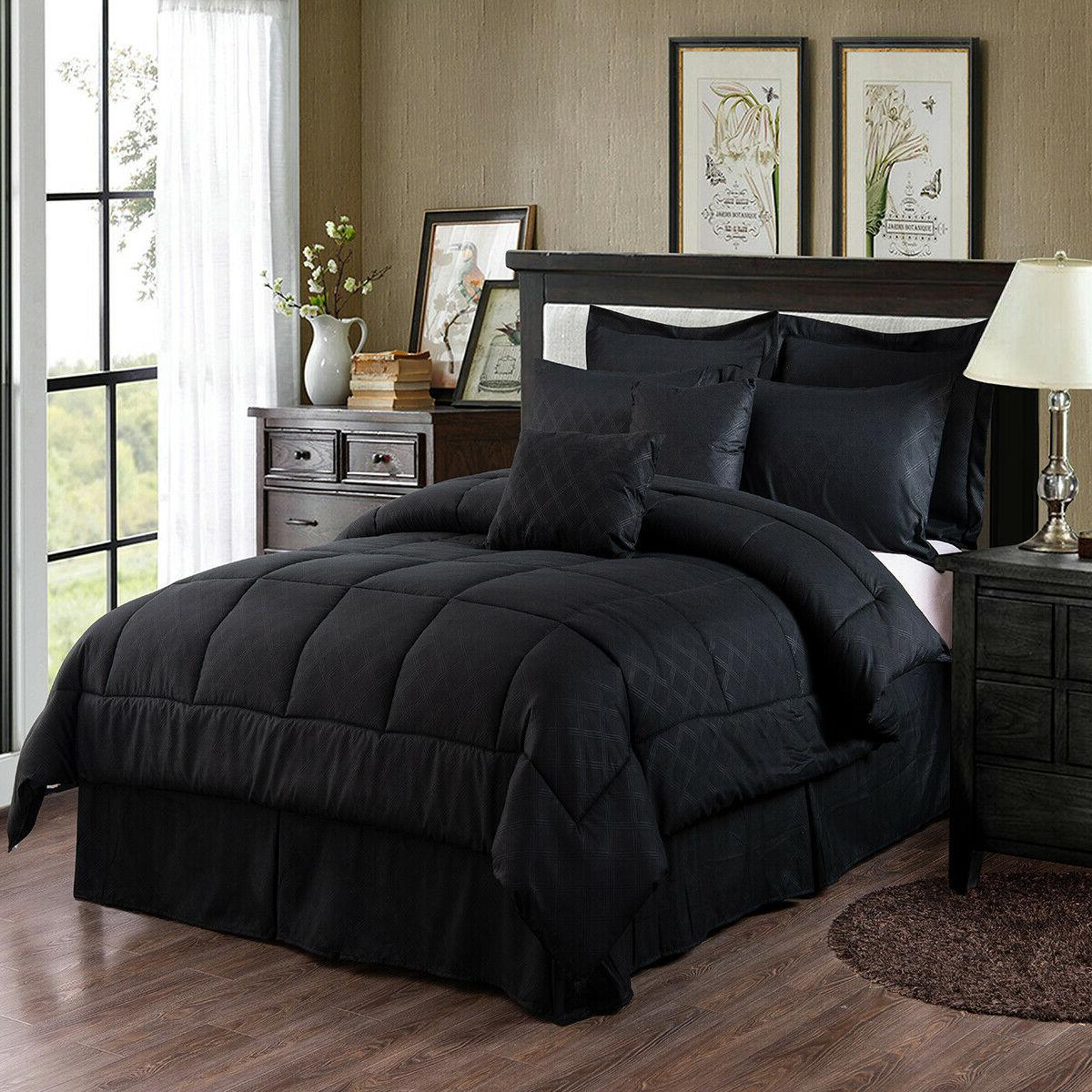 Deal 10 Piece Comforter Set Complete Bed in a Bag Comforter