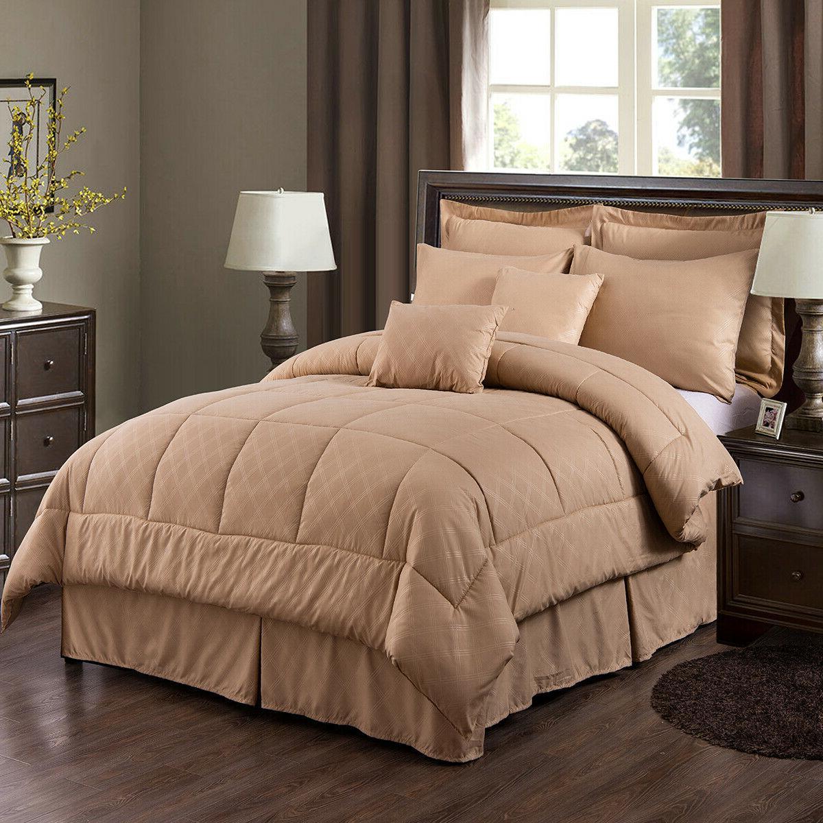 10-Piece Reversible Bedding + King/Cal SALE!!