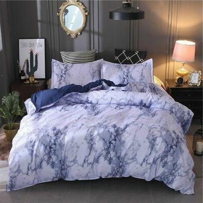 /Duvet Cover Quilt Marble Printed