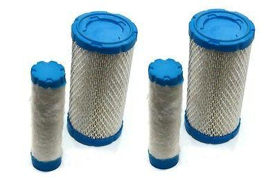 2 air pre filters cleaners set ferris