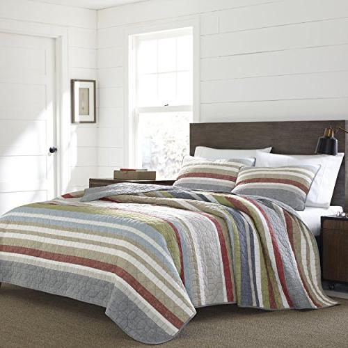 221109 salmon ladder reversible quilt