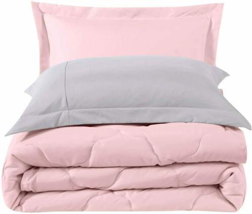 Chezmoi Collection 3-Piece Super Soft Comforter