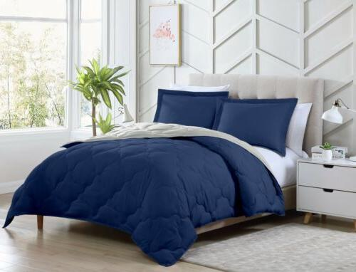 Chezmoi 3-Piece Soft Down Alternative Comforter