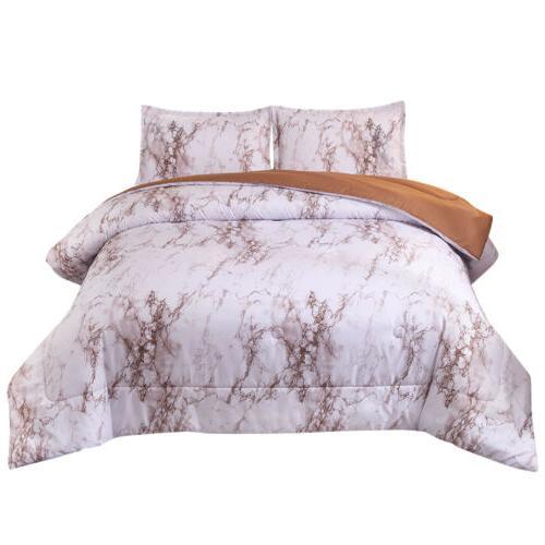 3 Quilt Zipper Closure Printed Bedding