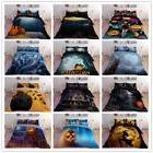 3D Halloween Pumpkin Comforter Duvet Cover Pillowcase Beddin