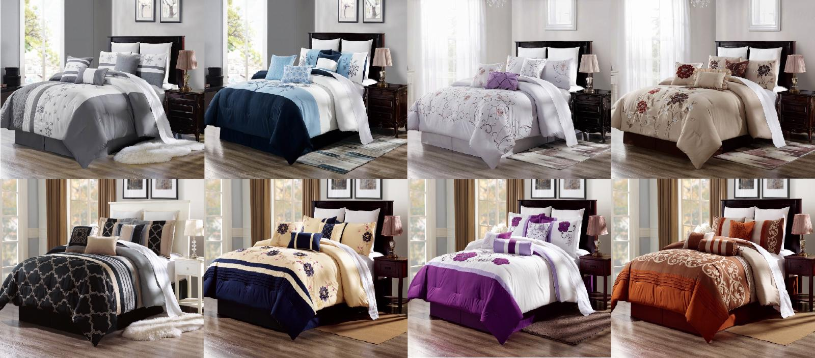 3PC DUVET COMFORTER COVER SET W/ SHAMS