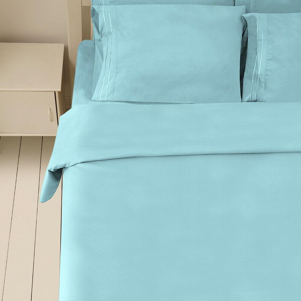4/6Piece bed sheet set Deep Sheets King Size bed fitted sheet