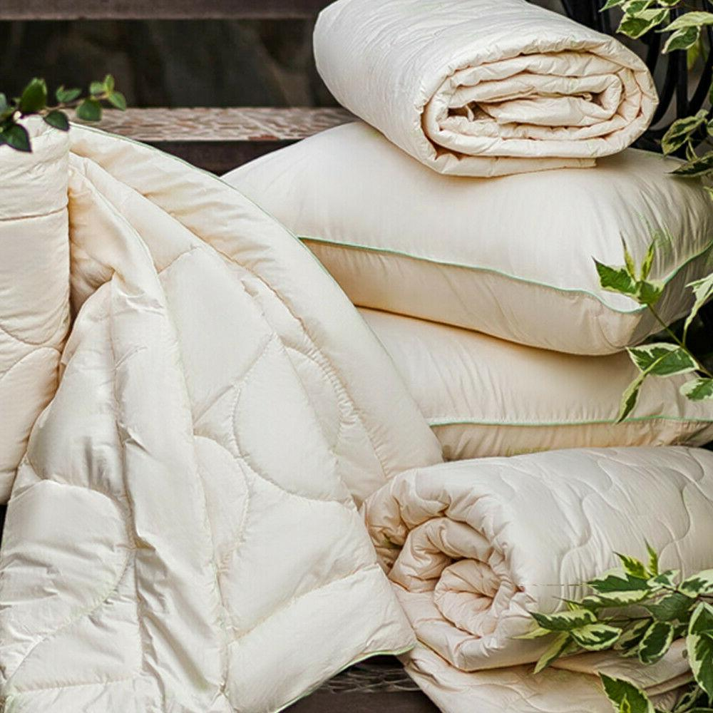 """40 x 56"""" Comforter with Goose Feather Fill. Cozy"""