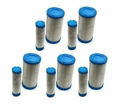 5 air pre filters cleaners set ferris
