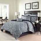 Traditions By Waverly 6-Piece Paddock Shawl Comforter Set, K