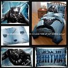 6pc BLACK PANTHER Full BEDDING Bed In A Bag w/ Comforter, Sh