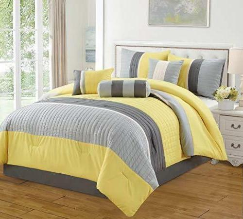 DCP Piece Comforter Set Complete a King Queen Cal