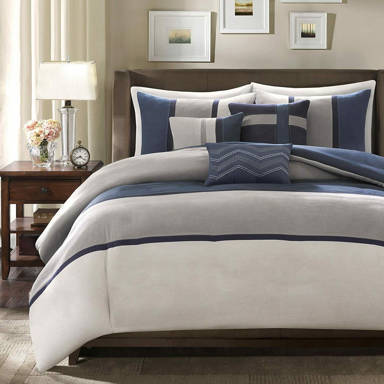 Microsuede Comforter Skirt Beddings 7