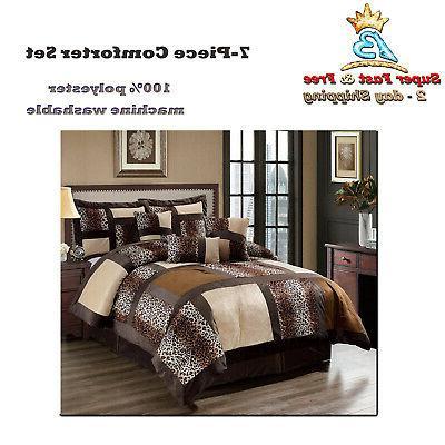 Microsuede Comforter Skirt Decorative Cover Beddings