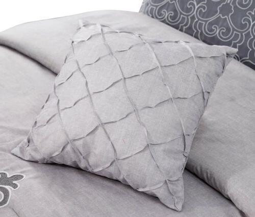 Chezmoi 7-Piece White Comforter