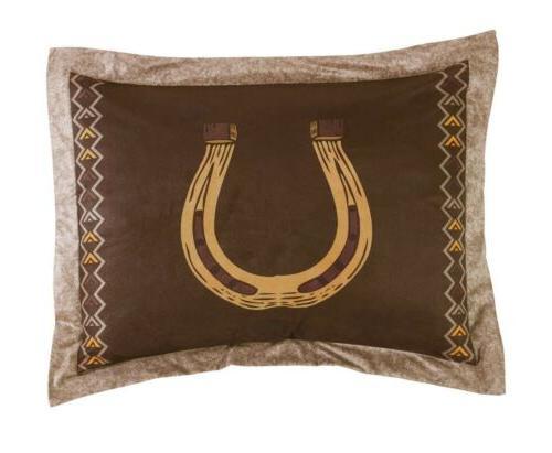 Chezmoi Collection Wild Horses Comforter Set or