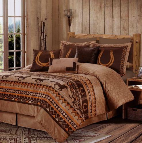 Chezmoi Collection Wild Comforter Set or Set