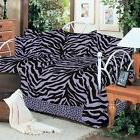 7pc Lavender Zebra Leopard Daybed Bedding Set Karin Maki Com