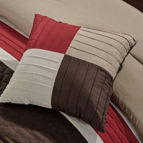 Chezmoi Quilted Comforter Set