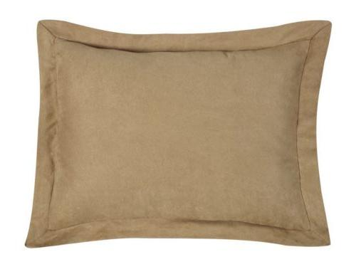 7pc Microsuede Comforter Set or