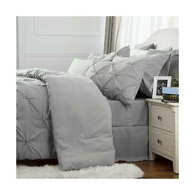 Bedsure Set Bed A Bag Pillowshams, Flat She...