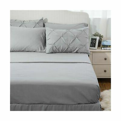 Bedsure 8 Piece Comforter Set Bed in A Bag She...
