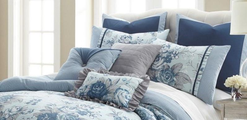 8 Comforter Set Bedding Elegant FarmHouse Queen/King