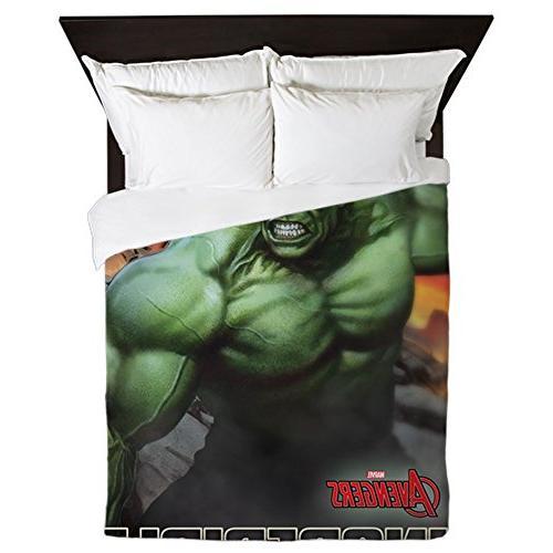 CafePress - Avengers Incredible Hulk - Queen Duvet Cover, Pr