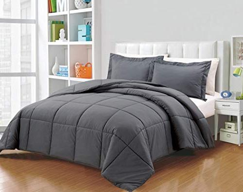 Chezmoi 3-Piece Alternative Comforter Set