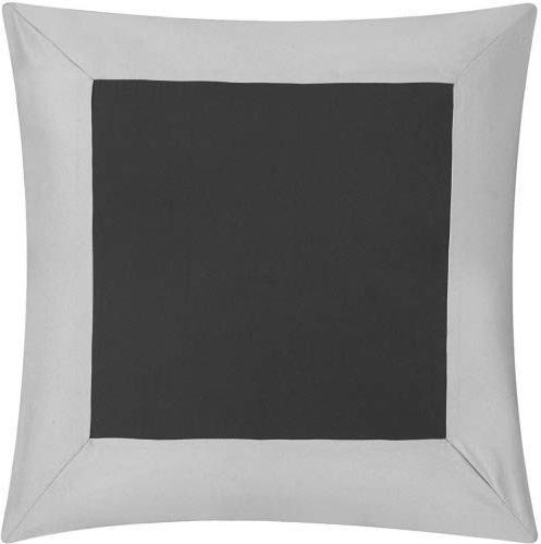 Chic 10 Piece Sheet Set Pillows Grey