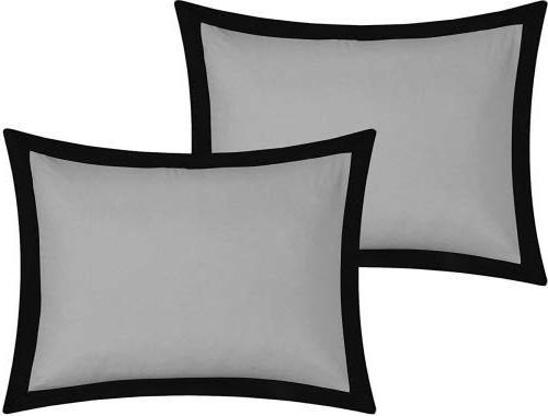 Chic Piece Bedding Sheet and Decorative Pillows Shams Queen