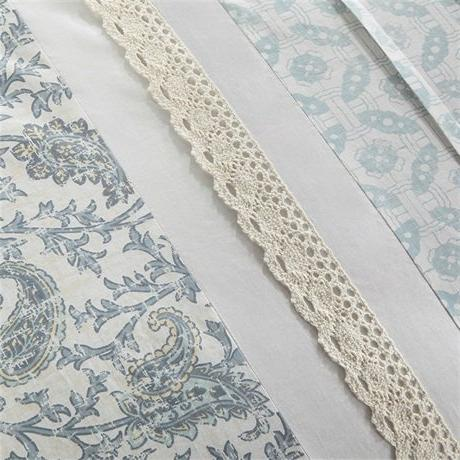 Madison Dawn Size Bed Bed - , Shabby Chic Pieces Bedding 100% Percale Comforters