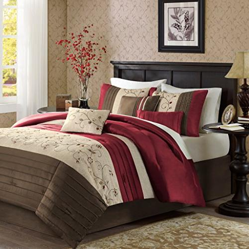 Madison Park Serene Cal King Size Bed Comforter Set Bed In A