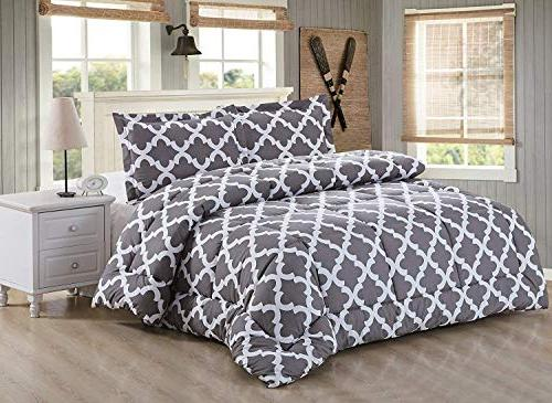 Utopia Bedding Set Pillow Shams - Luxurious Microfiber - Goose Alternative Comforter and Comfortable Machine Washable