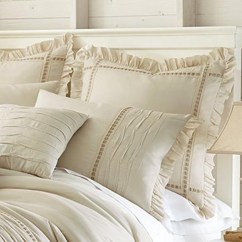 Amrapur Antonella Pleated Comforter Set,