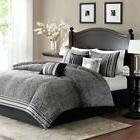 Madison Park Barton Cal King 7pc Comforter Set Bed In A Bag