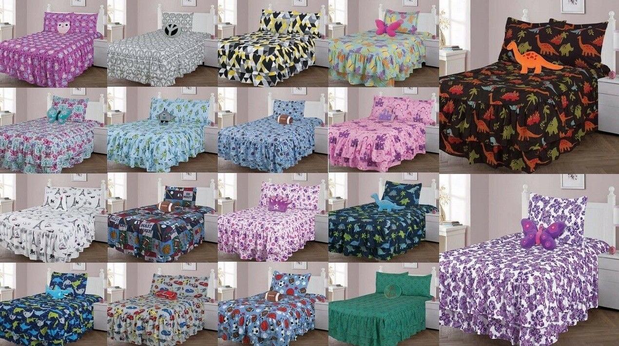 bed in a bag comforter set