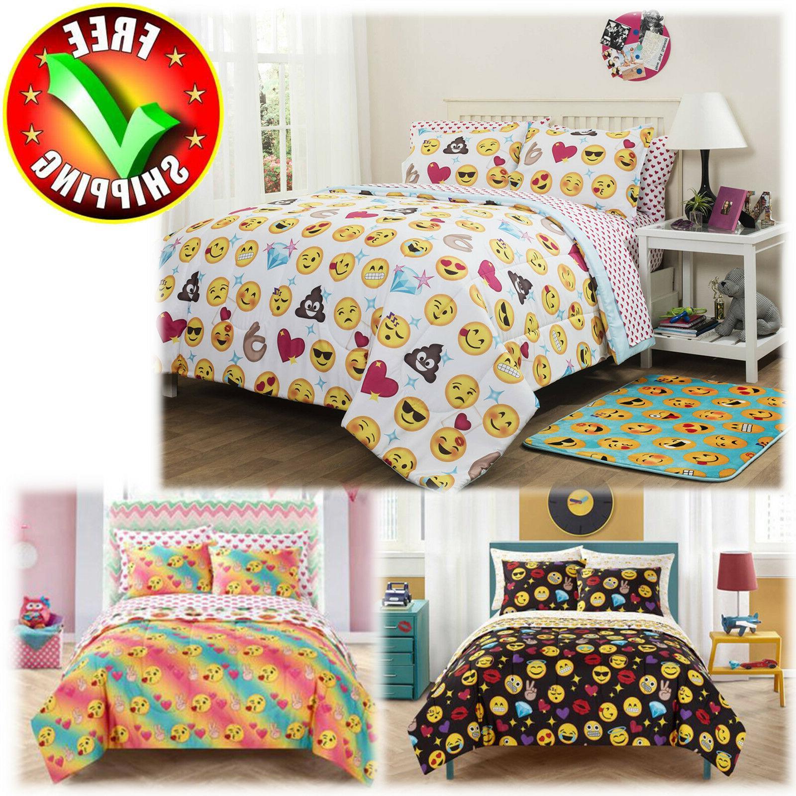 Bedding Sheet  Set Comforter Queen Twin Full Girls Boys Reve