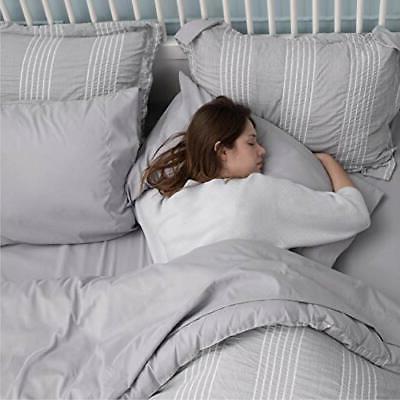 Bedsure Comforter 8 Piece Bed A Seersucker