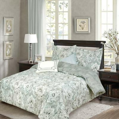 bellagio elegant reversible 5 piece comforter set