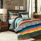 Lush Decor Boho Stripe 7-Piece Comforter Set
