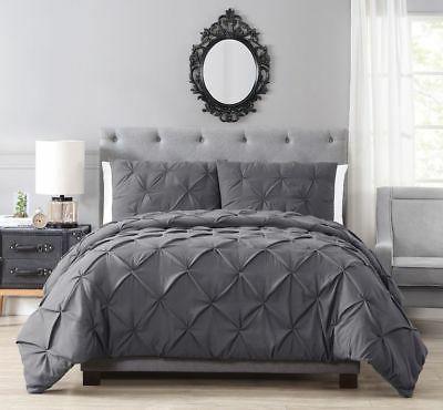 brunel pinched pleat down alternative comforter set