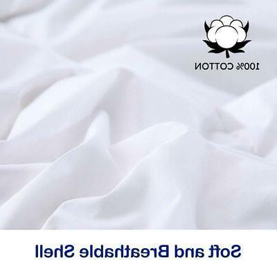 Cal-King Lightweight Down Comforter Duvet Duck Down Feather