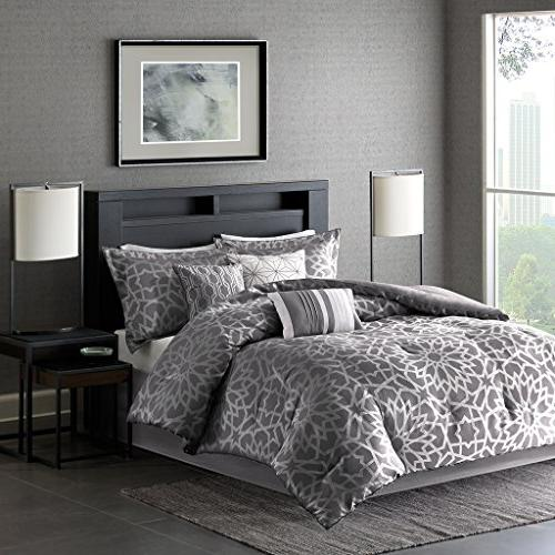 Madison Park Carlow Cal King Size Bed Comforter