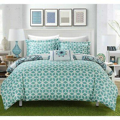 Chic Home Reversible 8-piece Bed a