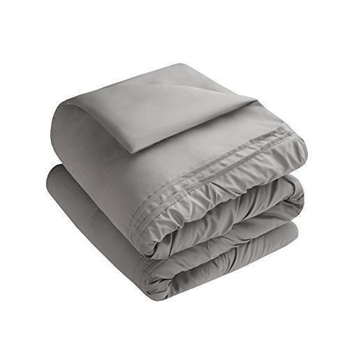 Comfort – Cavoy Comforter Piece – Gray – Size, 1 Comforter, 2 1 Pillow,