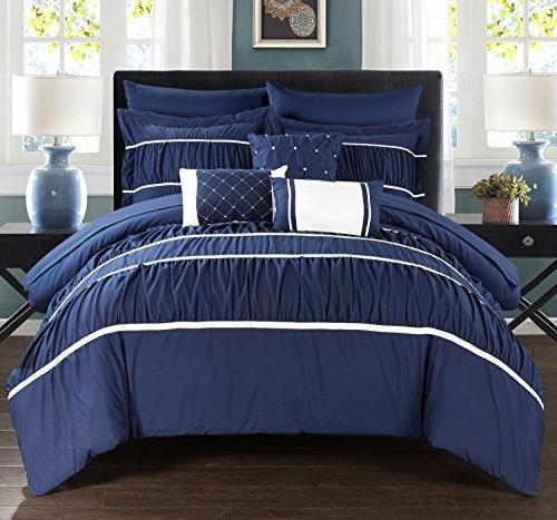 cheryl pleated ruffled bed a